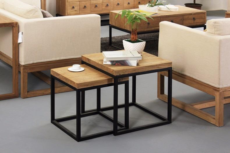 Mueble de hierro y madera rustica    1.800,00 en mercado libre