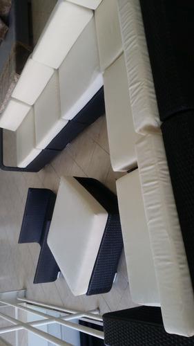 mueble de jardin exterior importado tela impermeable