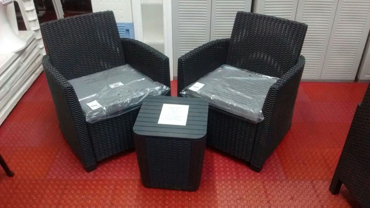 Mueble De Jardin Simil Ratan Importado (nuevo) - $ 22.750,00 en ...