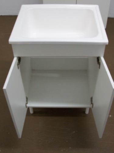 Mueble de lavadero 56cm bajo sin mesada amoblamientos fl - Mueble lavadero ...