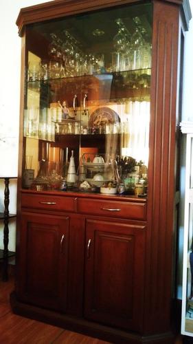 mueble de madera cedro - vitrina de comedor