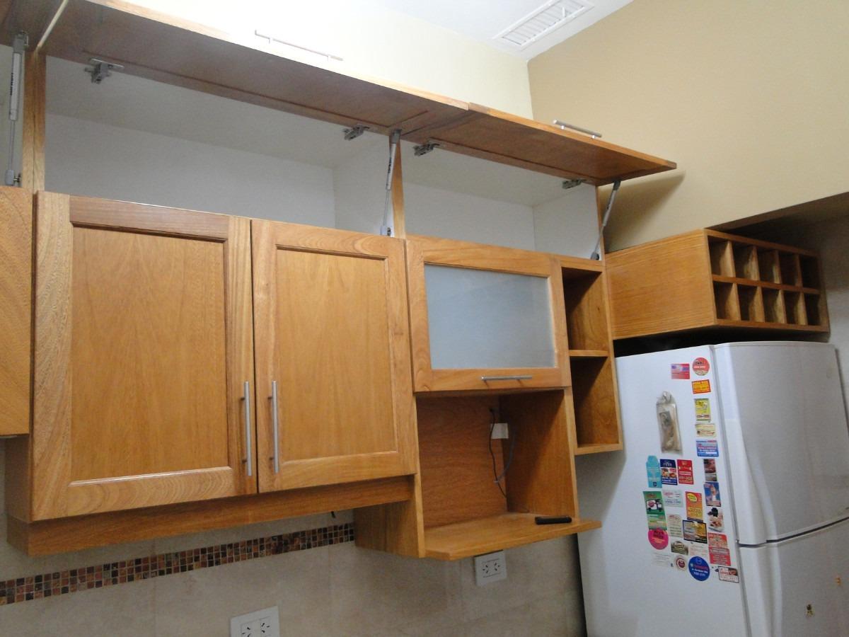 Limpiar muebles de madera de cocina top los muebles sin tirador potencian la sensacin de - Limpieza de muebles de madera ...