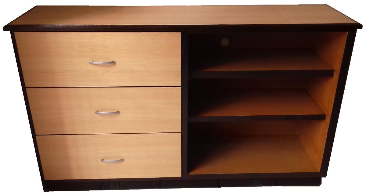 Mueble de madera de pino forrado con formica 1 en mercado libre - Mueble de pino ...