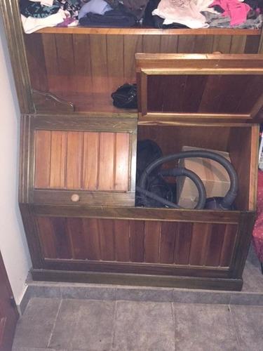 mueble de madera (excelente estado) ideal para chicos