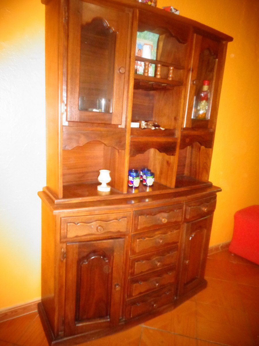 Mueble de madera para la sala bar bs en for Bar en madera para sala
