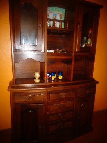 mueble de madera para la sala bar