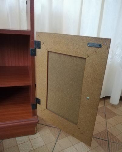 mueble de madera para televisor, entrada de casa o sala