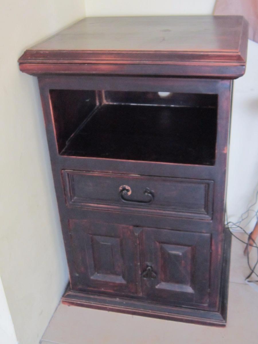 Mueble de madera rustico para tv en mercado libre - Muebles rusticos para tv ...