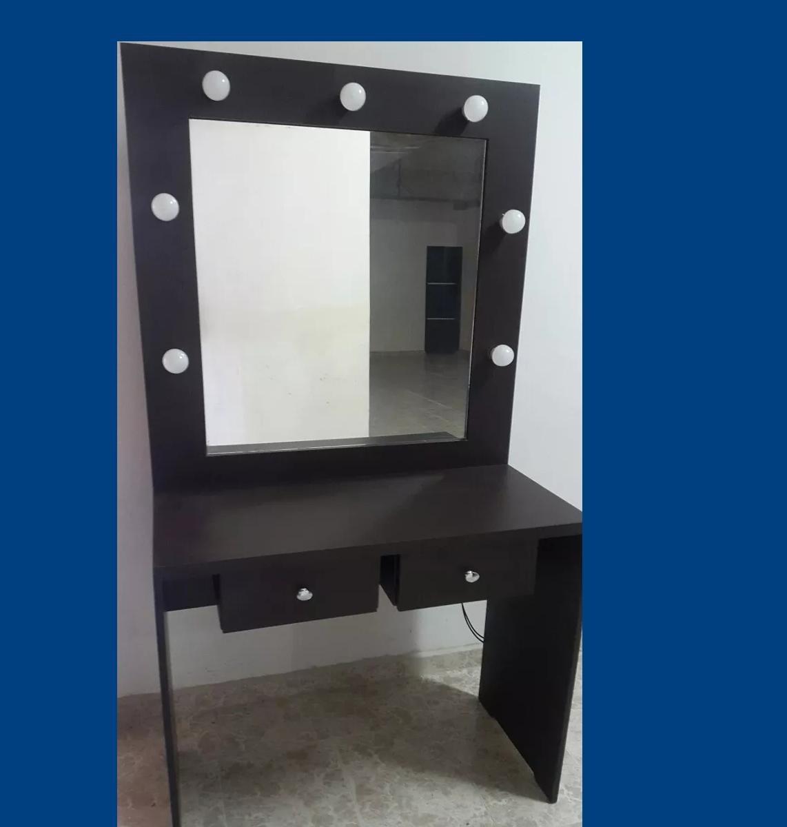 Hermosa Muebles De Vidrio Encimera De Maquillaje Friso - Muebles ...
