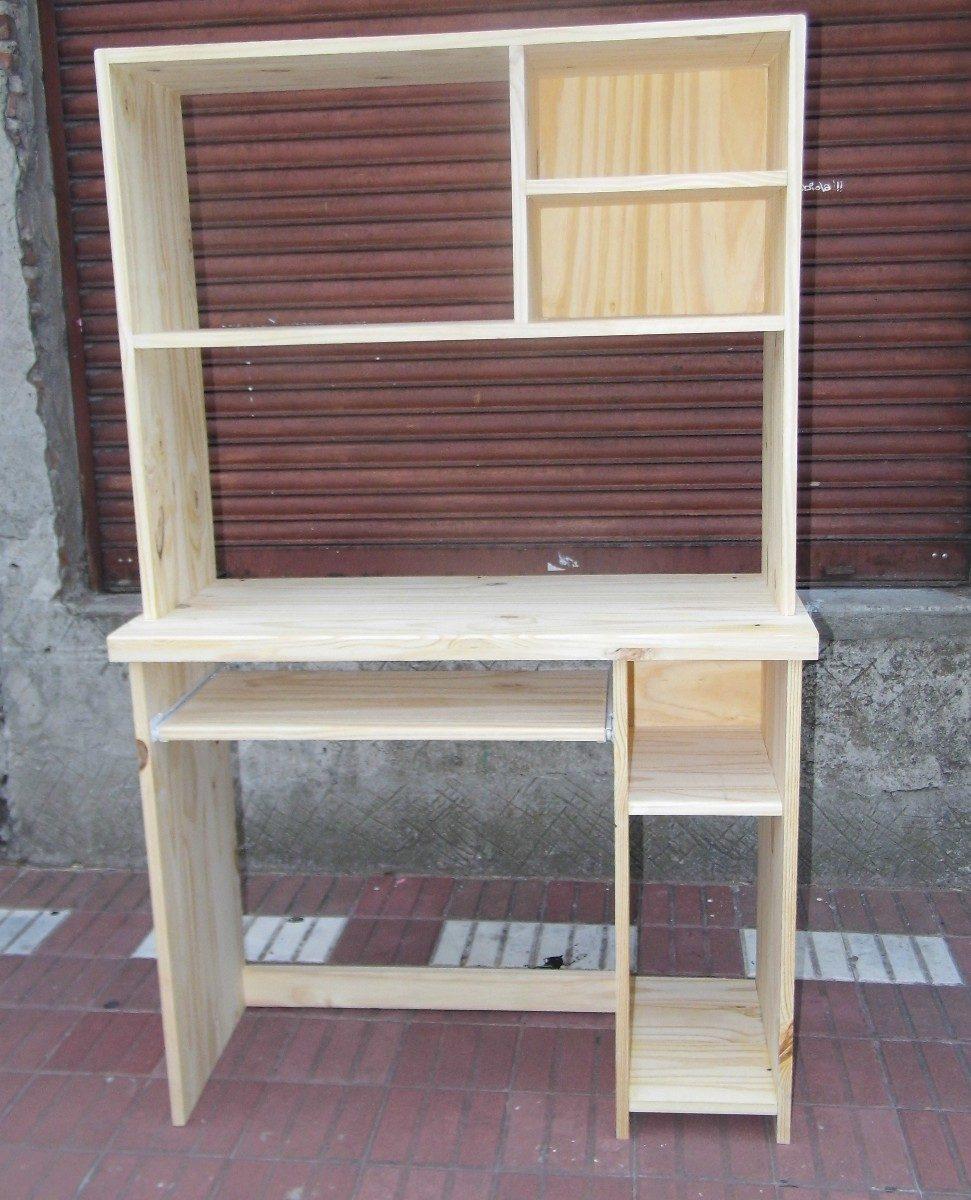 Mueble De Pc De Pino - $ 1.575,00 en Mercado Libre