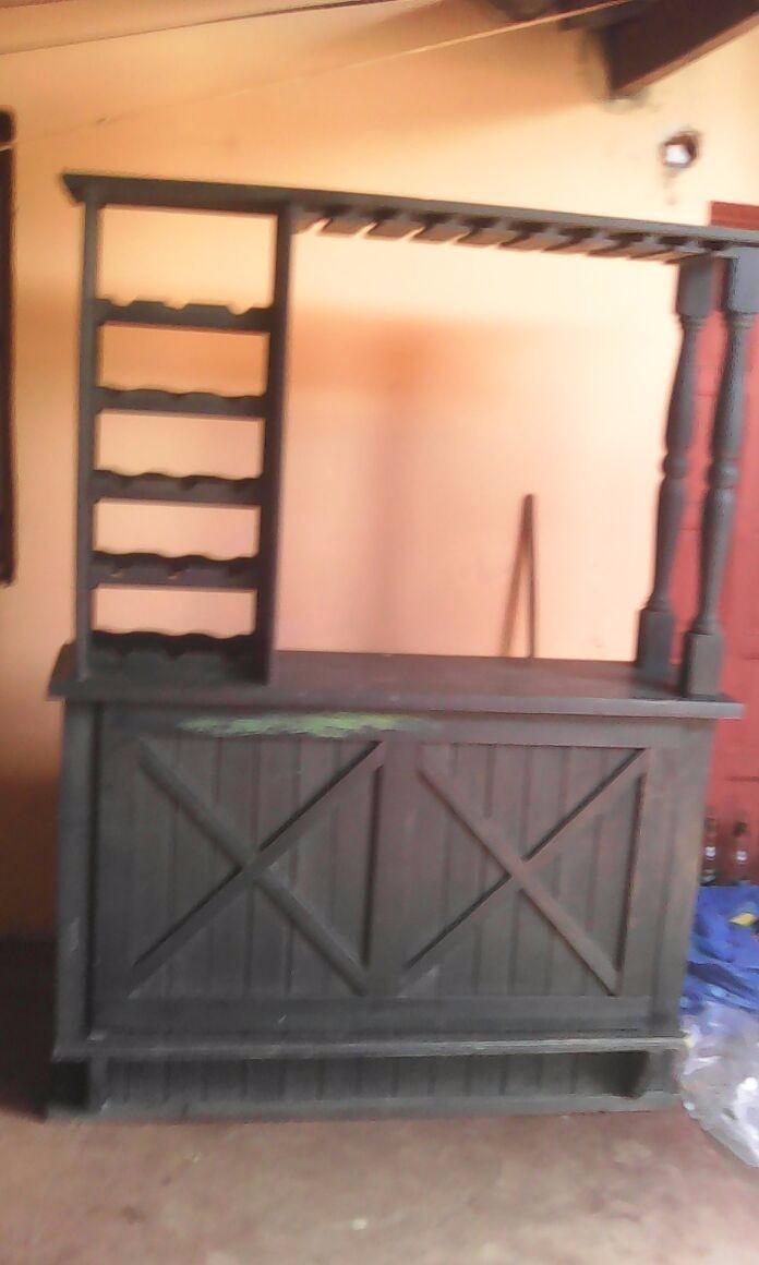 Mueble De Pino Tipo Bar Usado 1 500 00 En Mercado Libre # Muebles Posadas Misiones