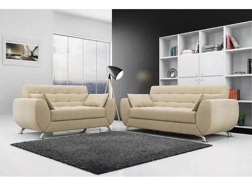 mueble de sala larissa de 3 - 2 , juego de sala