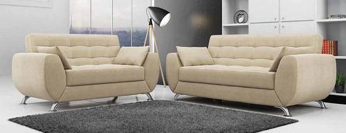 mueble de sala larissa de 3, juego de sala
