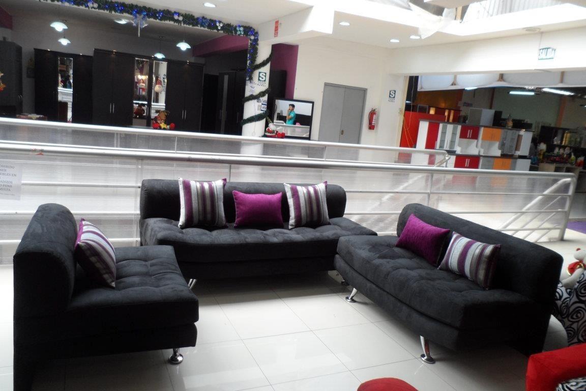 Mueble De Sala Seccional Juego De Sala S 1 499 99 En Mercado Libre # Muebles De Sala Fucsia