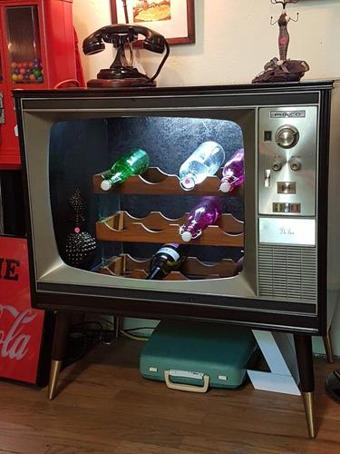 mueble de television   vintage cantina bar