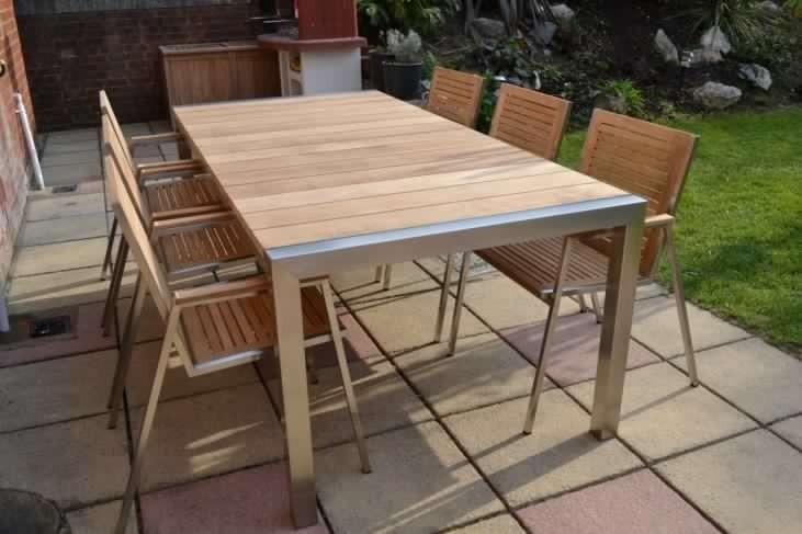Mueble De Terraza De Acero Inoxidable - S/ 3.900,00 en Mercado Libre