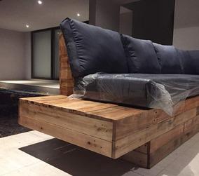 Mueble De Terraza Madera Pallet Apalet Muebles