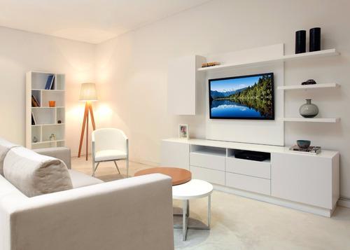 mueble de tv 50 pulgadas laqueado forbidan muebles
