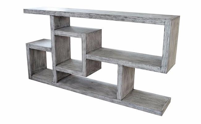 mueble de tv madera estilo vintage