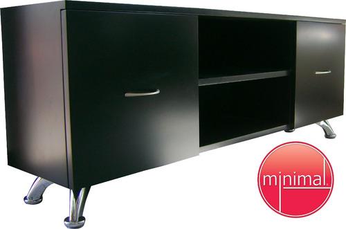 mueble de t.v minimalista contemporaneo poliuretano oferta!