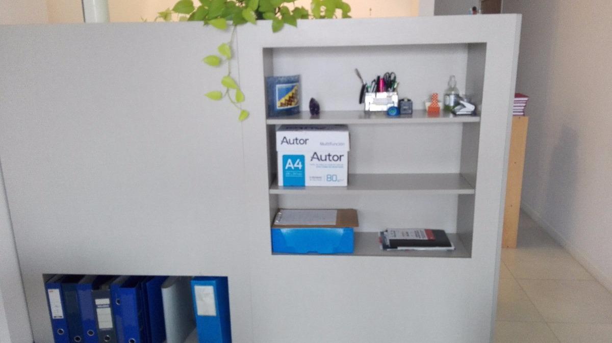 Mueble Divisor De Ambientes Con Estantes Oportunidad 7 500  # Muebles Divisores De Espacios
