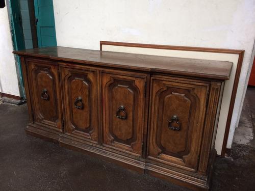 mueble en madera legítima medidas alto 78 largo 70 fondo 48