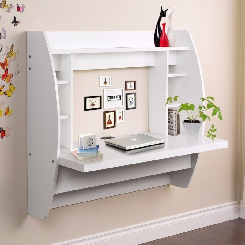 Mueble escritorio flotante modular minimalista 105 x 40 for Mueble 70 x 40
