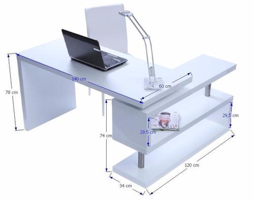 Mueble escritorio moderno minimalista archivero gaveta - Mueble escritorio moderno ...