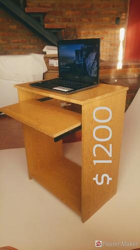 mueble escritorio pc diseño minimalista