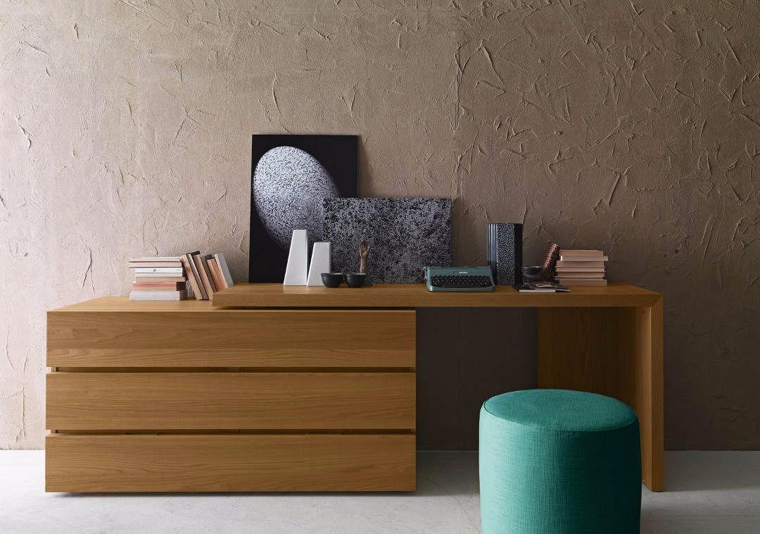 mueble escritorio tocador minimalista cajonera