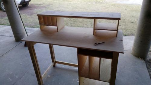 mueble escritorio vintage madera