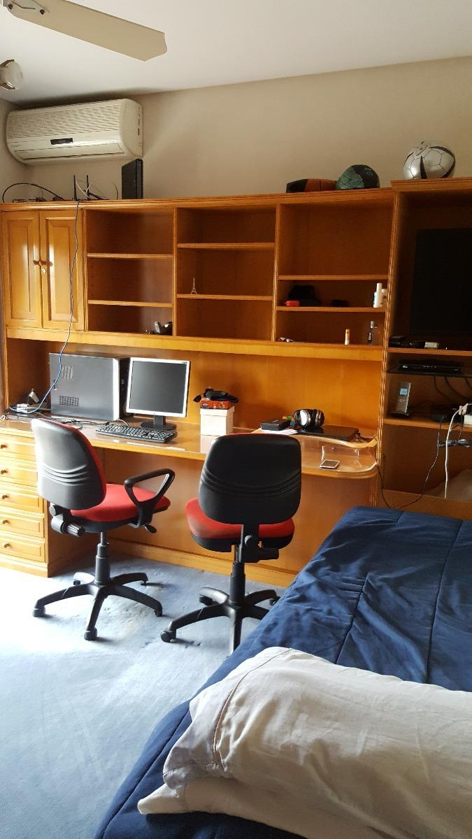 Mueble Escritorio Y Biblioteca De Madera Teca 10 900 00 En  # Muebles Teca Interior