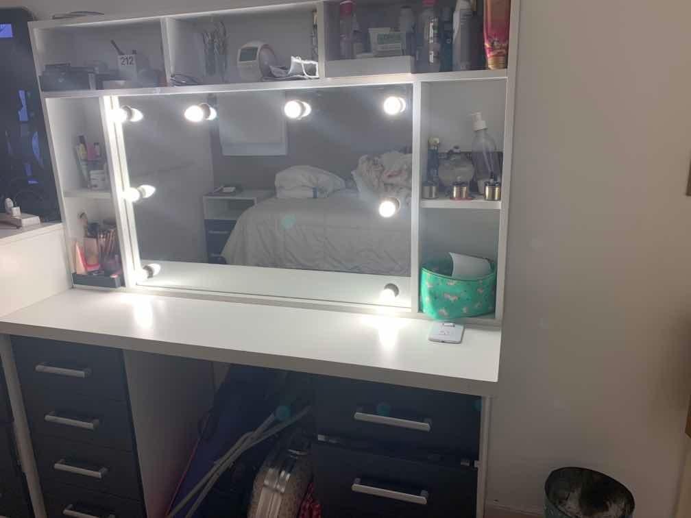 mueble espejo hollywood maquillaje