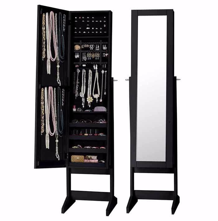 Mueble espejo joyero grande negro nuevo metinca en mercado libre - Mueble espejo joyero ...