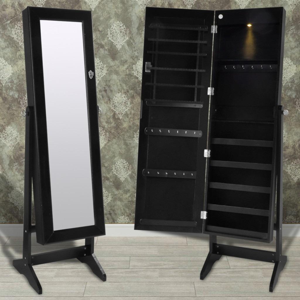 Mueble Espejo Joyero Grande Negro Nuevo Metinca 42 990 En  # Muebles Metinca
