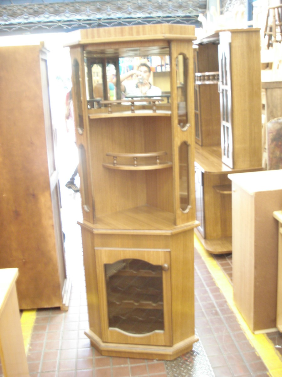 Mueble Esquinero 102 000 En Mercado Libre # Muebles Esquineros Para Sala