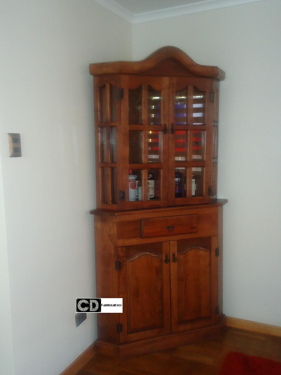 Mueble esquinero de dise o 100 madera raul canteradeco for Muebles de diseno uruguay