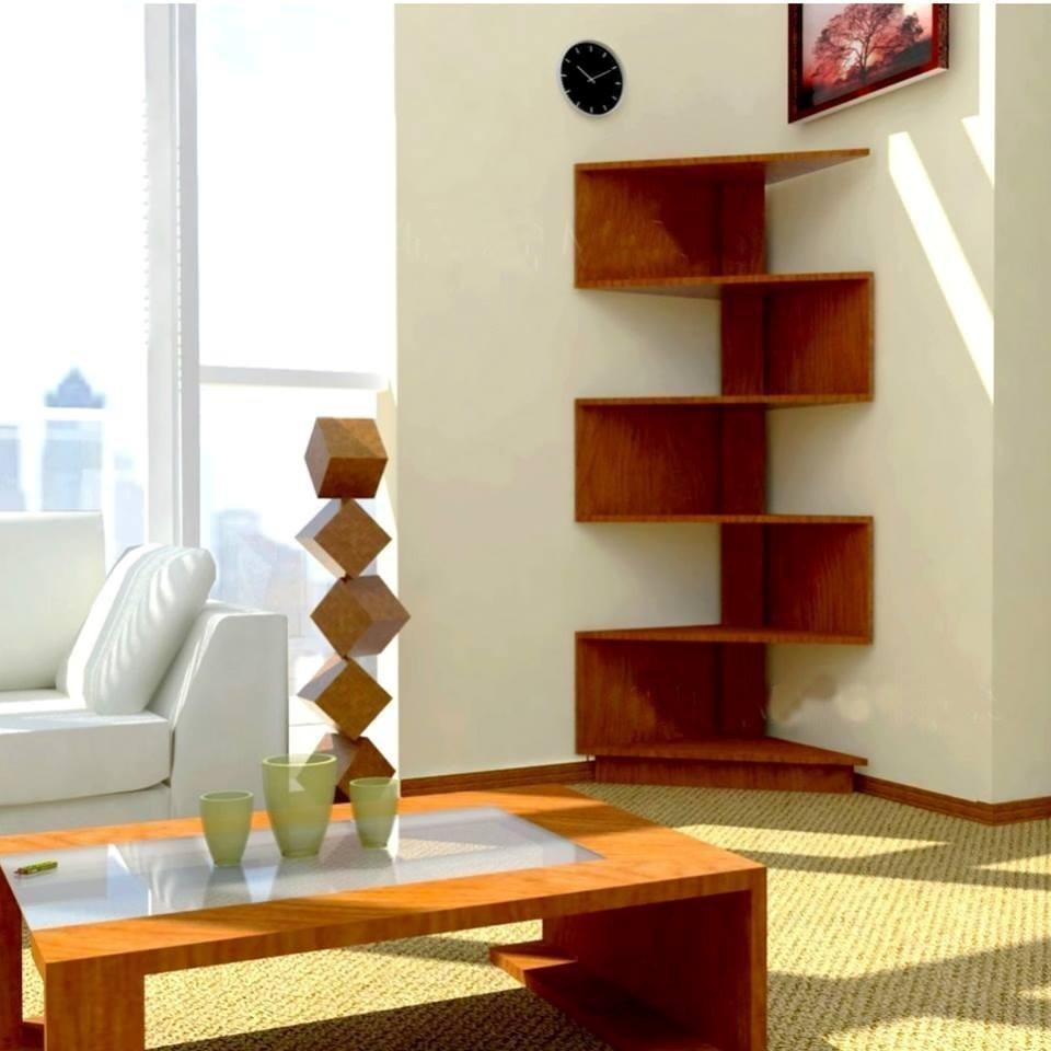 Mueble esquinero en madera nuevo en mercado libre for Muebles para supermercado