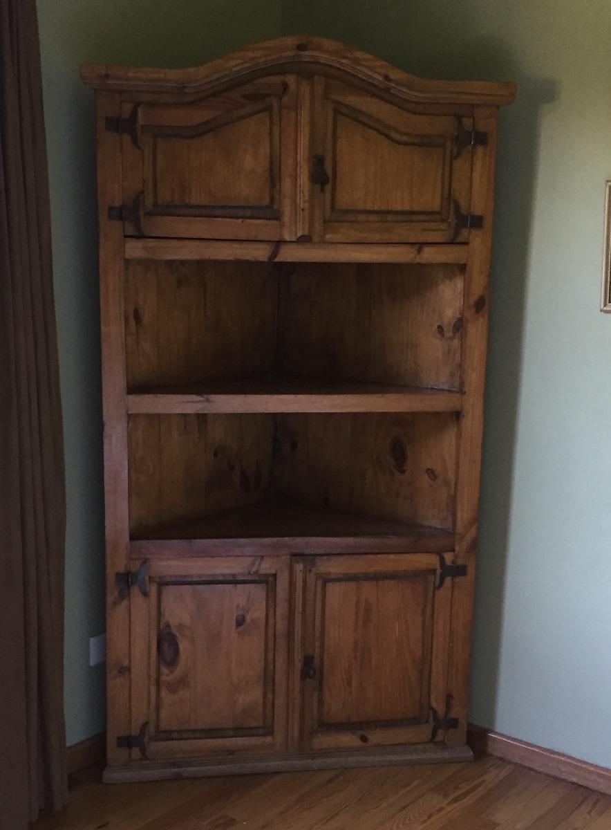 Mueble Esquinero Madera Maciza Origen India - $ 4.000,00 en Mercado ...