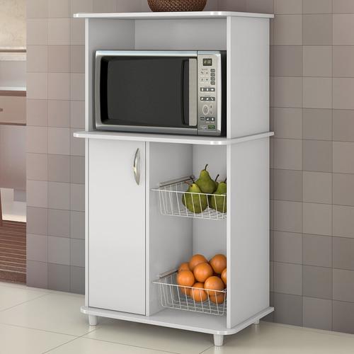 mueble estante microondas balli, horno eléctrico+ frutera