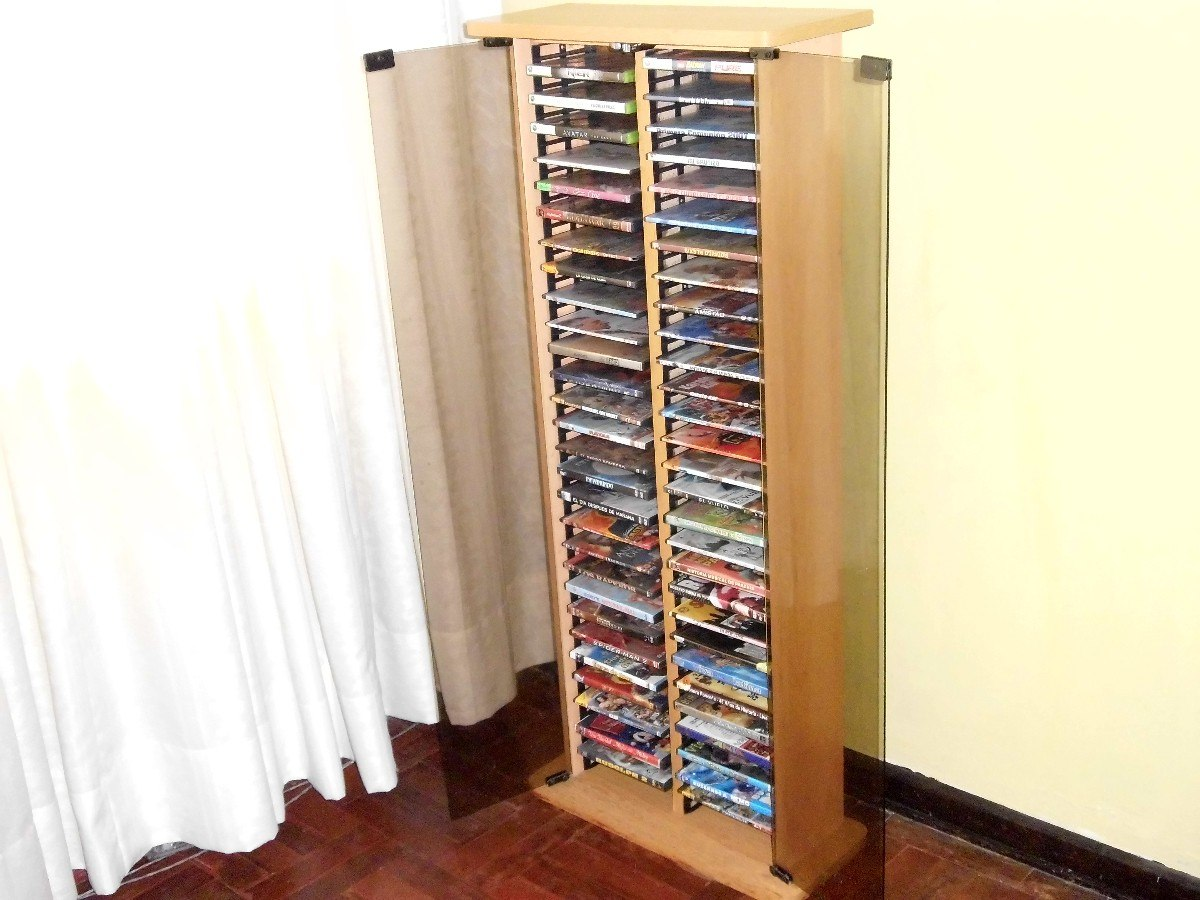 Mueble estante porta dvd de melamina s 159 00 en for Mueble porta cd