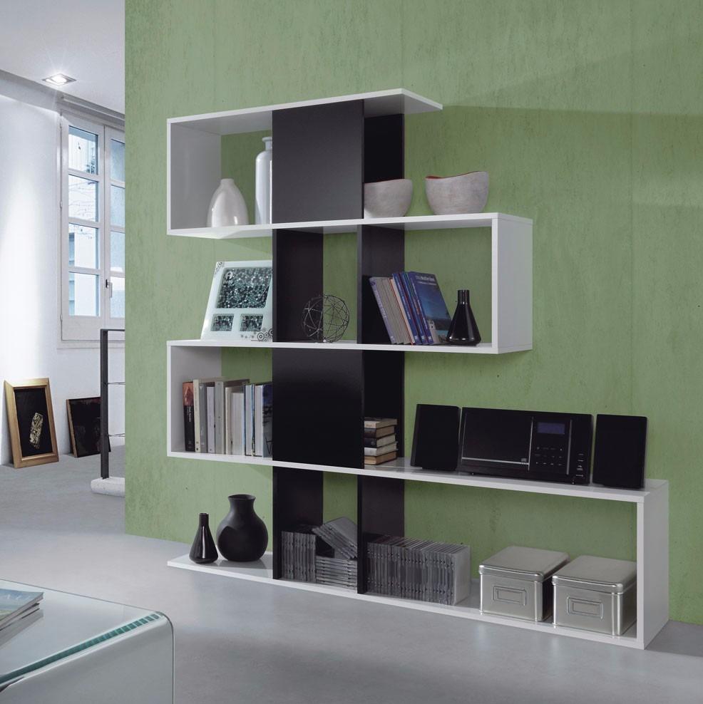 Mueble estante separador de ambientes melamina s 319 00 - Estanterias separadoras de ambientes ...