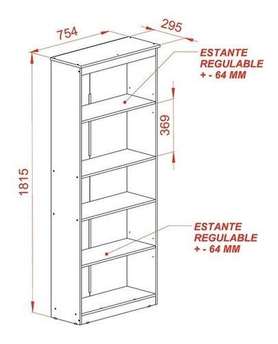 mueble estanteria biblioteca