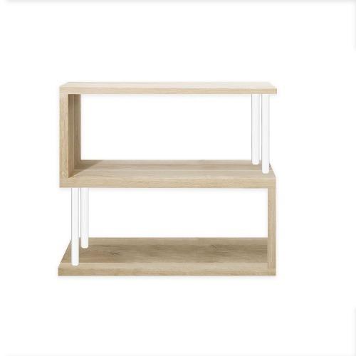 mueble estanteria librero forma s