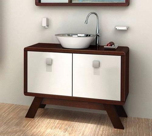 mueble estilo diseño nogal 100x45x74