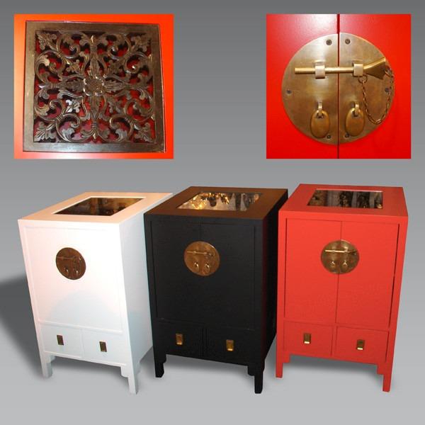 Mueble Estilo Oriental Herrajes Y Con Apliques Importados - $ 4.200 ...