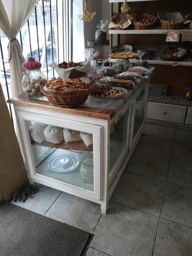 mueble exhibidor para panadería