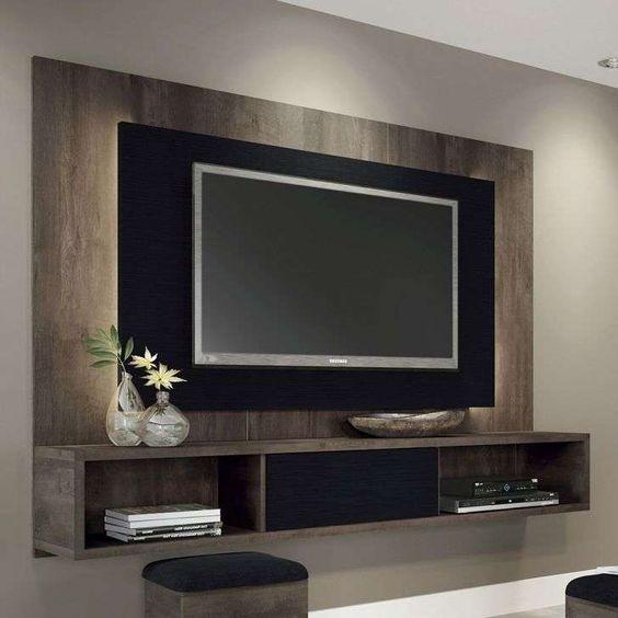 Mueble flotante para tv genova en mercado libre for Muebles para television