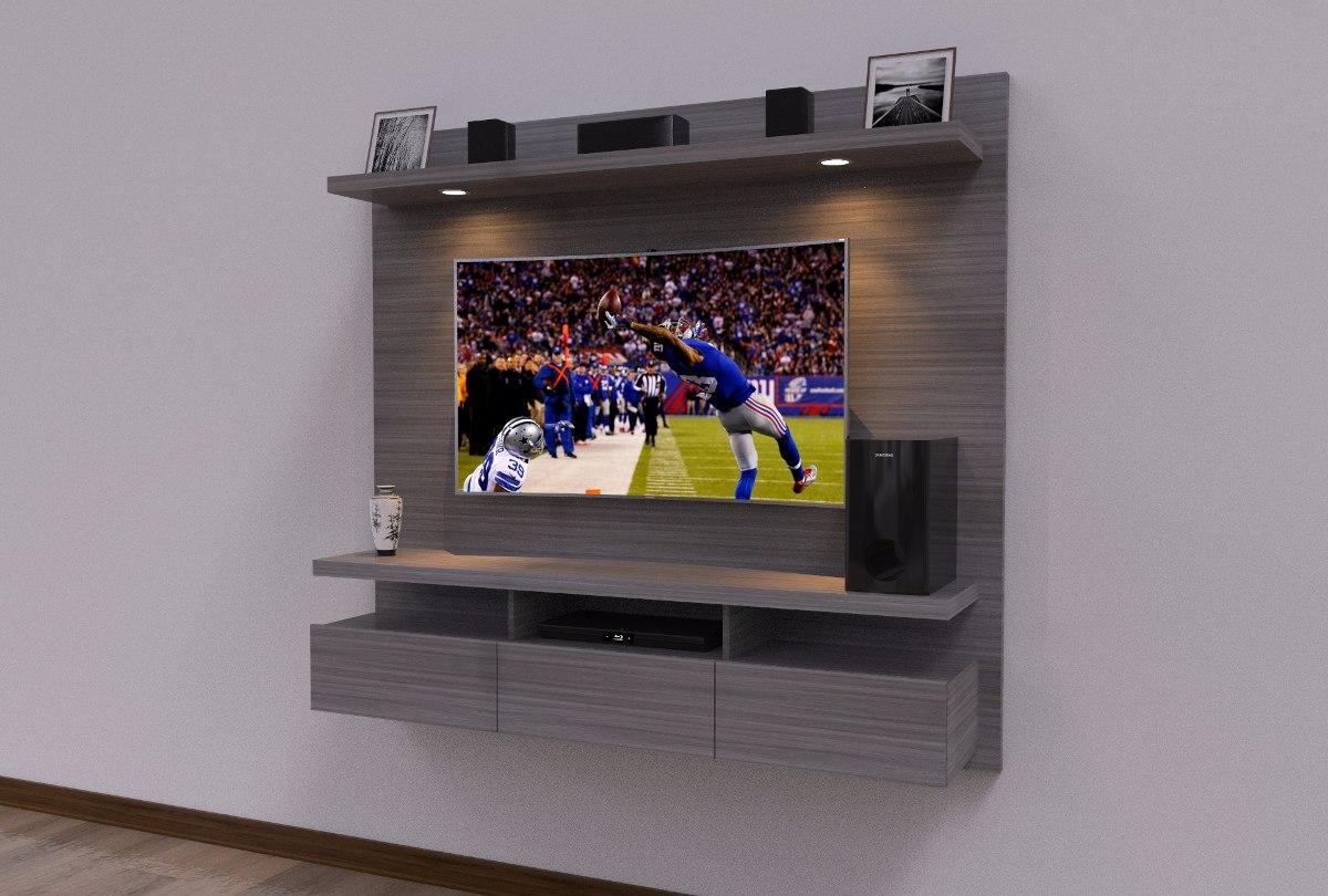 Mueble Flotante Para Tv Moderno Ref Spretto 750 000 En Mercado  # Muebles Rapimueble