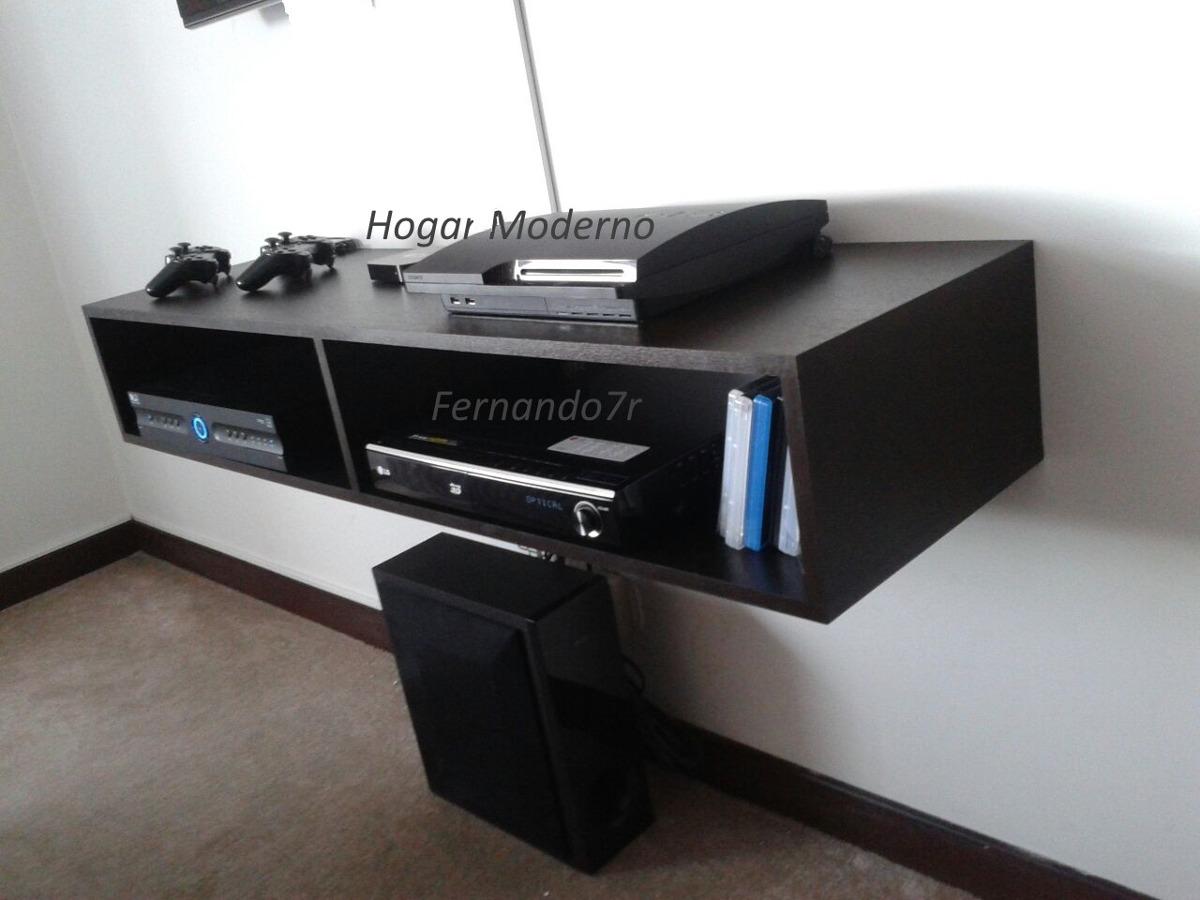 Mueble Flotante Para Tv Ref Mtv120 145 000 En Mercado Libre # Muebles Para El Xbox